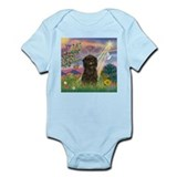 Cloud Angel & Affenpinscher Infant Bodysuit