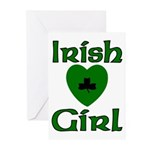 Irish Girl Greeting Cards (Pk of 20)