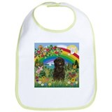 Rainbow &amp; Affenpinscher Bib