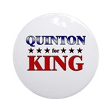 QUINTON for king Ornament (Round)