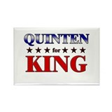 QUINTEN for king Rectangle Magnet