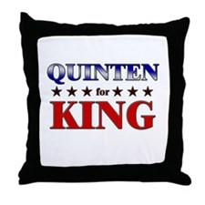 QUINTEN for king Throw Pillow