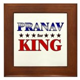 PRANAV for king Framed Tile