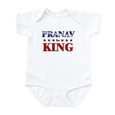PRANAV for king Infant Bodysuit