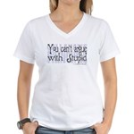 Callahan's Principle Women's V-Neck T-Shirt