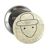 Mobile leprechaun 2.25&quot; Button (100 pack)