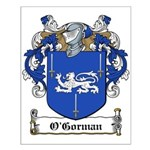 O'Gorman Family Crest Small Poster