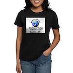 World's Coolest PRODUCTION ASSISTANT Women's Dark