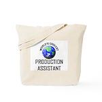 World's Coolest PRODUCTION ASSISTANT Tote Bag