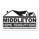 Middleton Reno Sticker (Rectangular)
