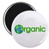 "Organic Earth 2.25"" Magnet (10 pack)"