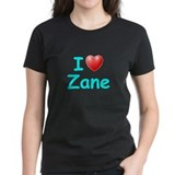 I Love Zane (Lt Blue) Tee