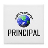 World's Coolest PRINCIPAL Tile Coaster