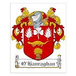 O'Hanraghan Family Crest Small Poster