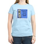 i did NOT have TEXTUAL relations Women's Light T-S