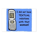 i did NOT have TEXTUAL relations Postcards (Packag