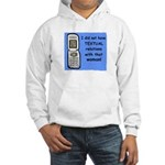 i did NOT have TEXTUAL relations Hooded Sweatshirt