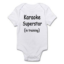 Superstar In Training Infant Creeper
