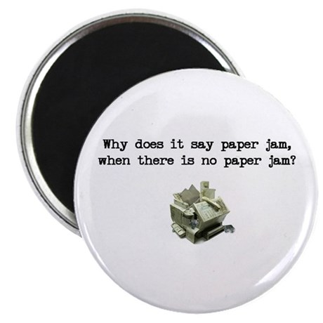 Paper Jam Magnet