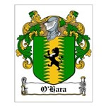 O'Hara Family Crest Small Poster