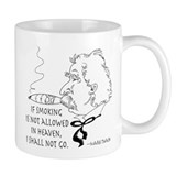 Cigar Smoker Mark Twain Quote Small Mug