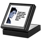 "Chekhov ""Don't Notice"" Keepsake Box"