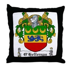 O'Heffernan Family Crest Throw Pillow