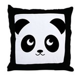 Panda Pupo Throw Pillow