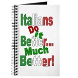 Italians Do it Better Journal