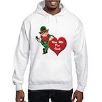 Masonic Valentine/St. Pats Day Hooded Sweatshirt
