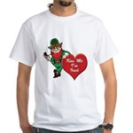 Masonic Valentine/St. Pats Day White T-Shirt