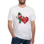 Masonic Valentine/St. Pats Day Fitted T-Shirt