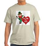 Masonic Valentine/St. Pats Day Ash Grey T-Shirt