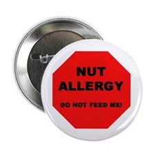 "Unique Allergic to dairy 2.25"" Button"