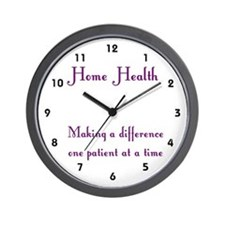 Home Health Wall Clock Wall Clock