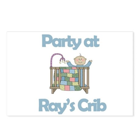Party at Ray's Crib Postcards (Package of 8)