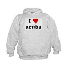 I Love aruba Hoodie