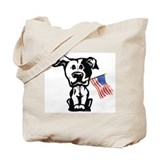 Pitbull Terrier Tote Bag