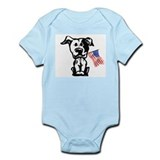 Pitbull Terrier Infant Bodysuit