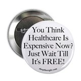 "No Socialized Medicine 2.25"" Button"