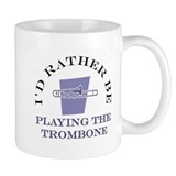 I'd Rather Be Playing The Tro Small Mug