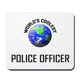 World's Coolest POLICE OFFICER Mousepad