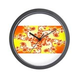 Fractal #66 Wall Clock