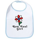 Ron Paul Girl Bib