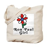 Ron Paul Girl Tote Bag
