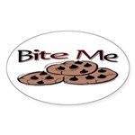 Cookie Oval Sticker