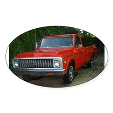 1971 Truck Oval Decal