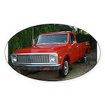 1971 Truck Oval Sticker