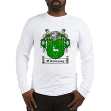 O'Hennessy Family Crest Long Sleeve T-Shirt