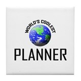 World's Coolest PLANNER Tile Coaster